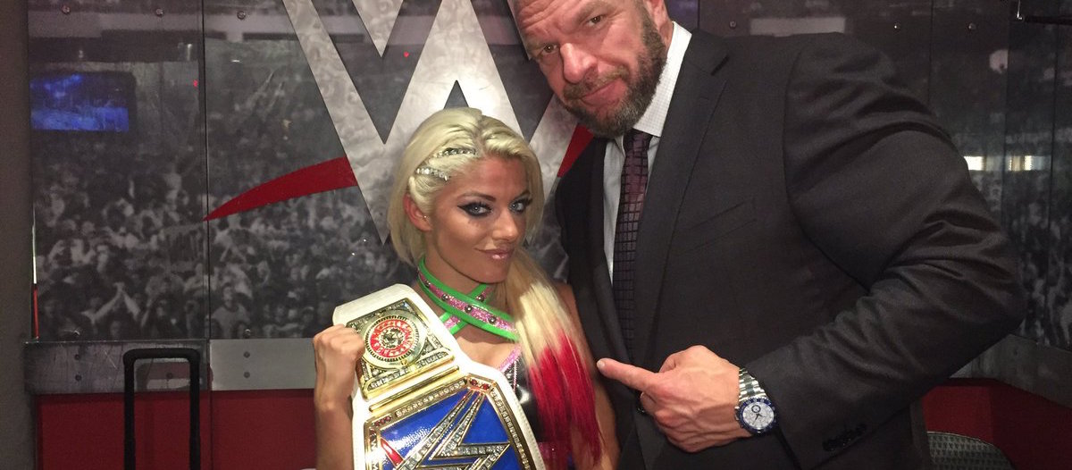 Columbus Native, Alexa Bliss, Title Reign Is 'Best For Business'… and Becky Lynch.