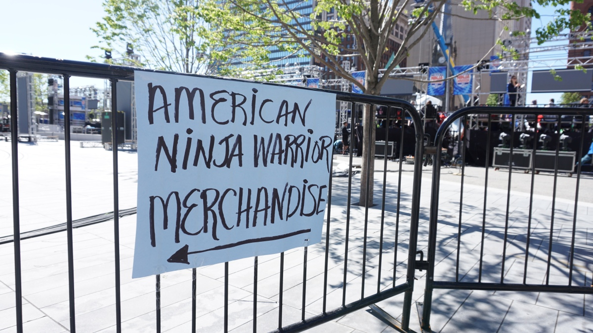 Places: American Ninja Warrior In Cleveland!